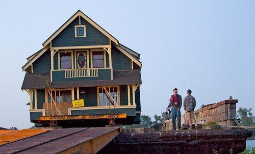 Дом, который можно перевозить по реке