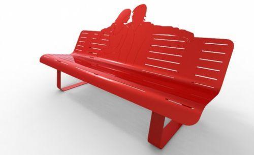 Креативные уличные скамейки