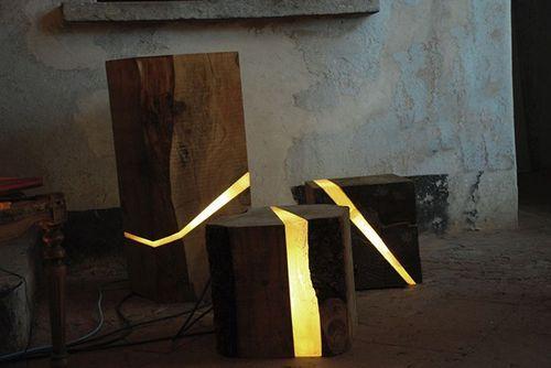 Необыкновенные светильники Brecce Lamps