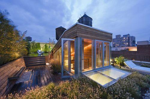 Новая концепция городского сада Broadway Penthouse