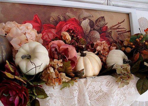 Осенний декор. Украшения для интерьера комнат