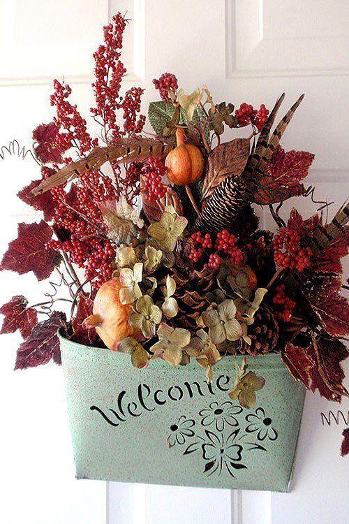 Осенний декор. Сухоцвет
