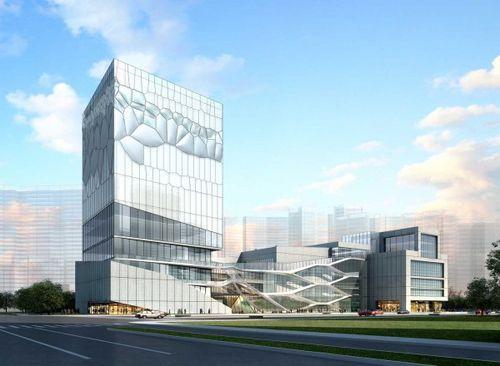 Проект спортивного комплекса Hangzhou Civic Sports Center