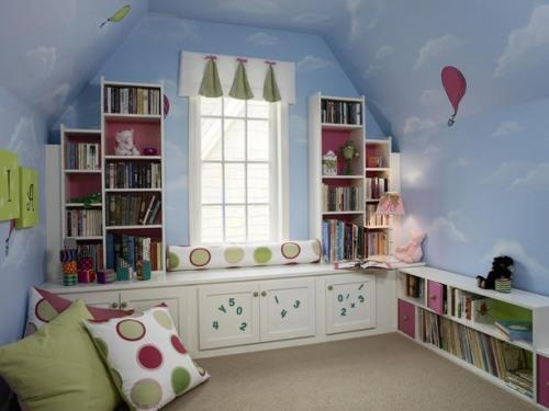 Ремонт в детской комнате. Отделка детской комнаты