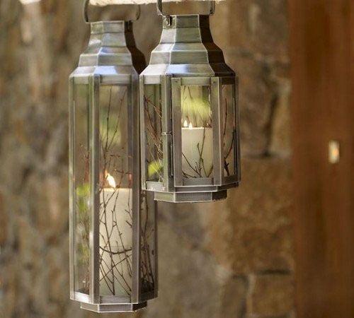 Светильник со свечей