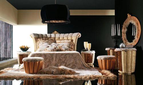 Роскошные итальянские спальни