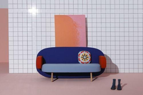 Современный диван с этническими мотивами Float Sofa от Карима Рашида