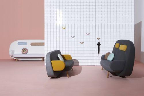Современный диван с этническими мотивами Float Sofa