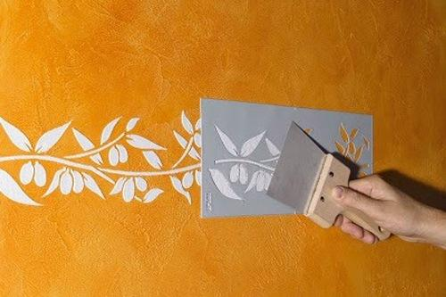 Трафареты для декора. Художественная роспись стен