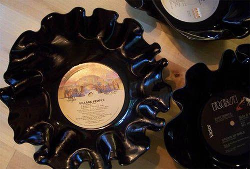 Поделки из виниловых пластинок своими руками