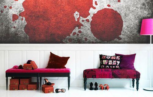 Шокирующие обои Bloody Moon Wall Murals