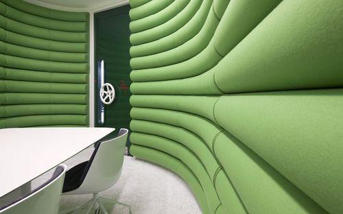 Зал совещаний в офисе Google