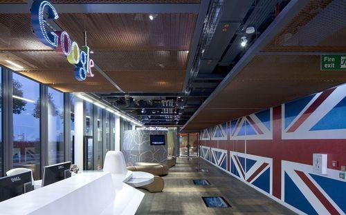 Уютный интерьер офиса Google в Лондоне