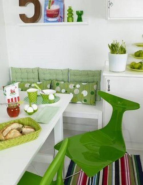 Весенний интерьер в кухне