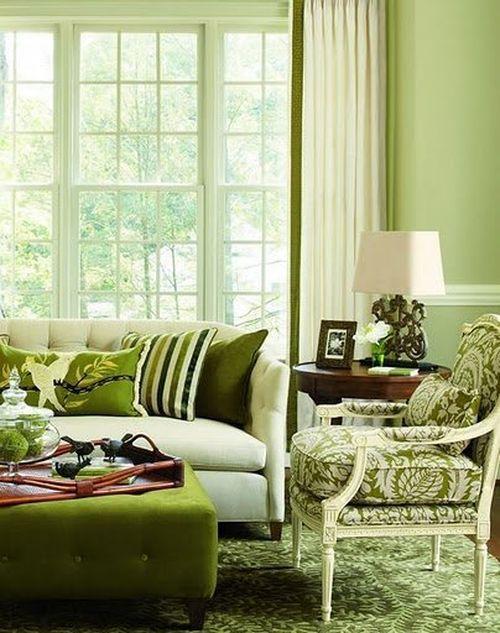 Весенний интерьер дома и квартиры
