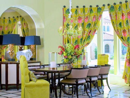 Весенний интерьер в гостиной