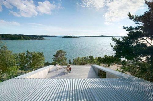 Вилла Mecklin с видом на озеро