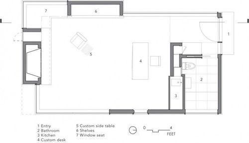 План студии Writer's Studio