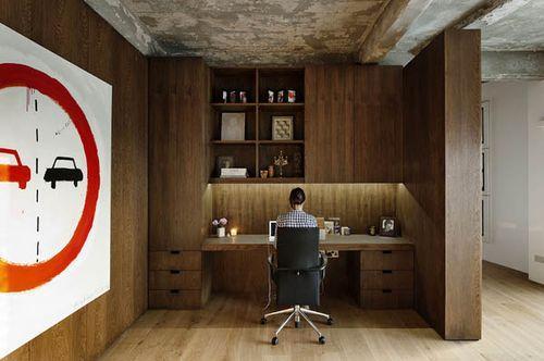 Жилой лофт нового поколения Wood-Defined Loft