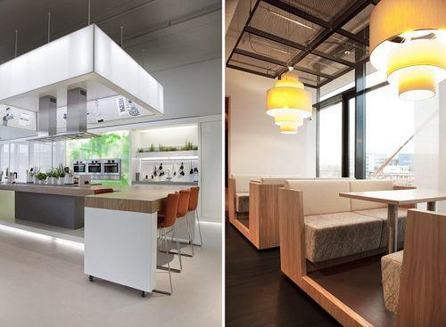 Зеленый атриум в офисе для Bosch Siemens Hausgerate (B/S/H/) в Нидерландах