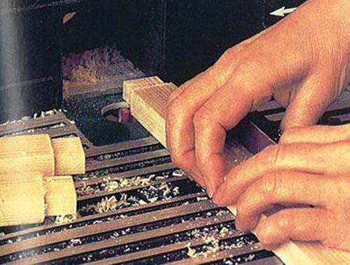 Шлифовка деревянных элементов