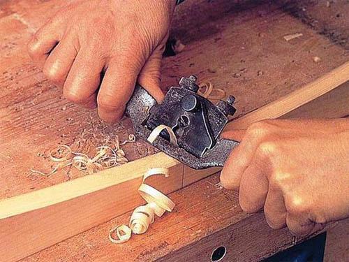 Подгонка деревянных элементов