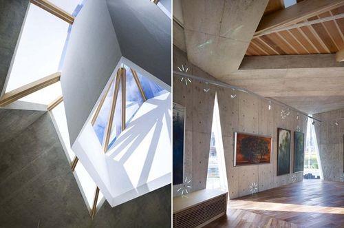 Mecenat Art Museum - креативная архитектура музея картин