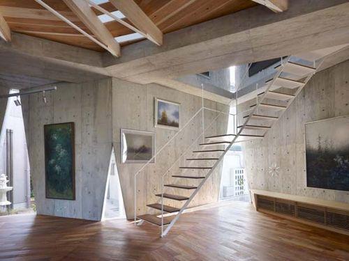 Креативная архитектура музея картин Mecenat Art Museum