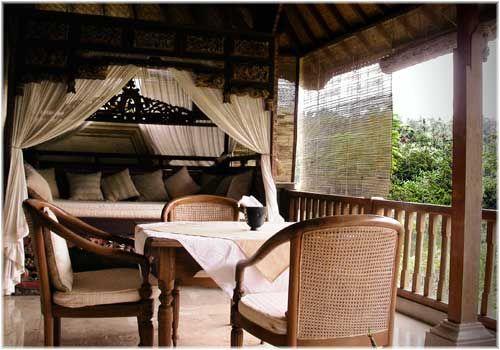 Летняя веранда на даче, прекрасное место для отдыха