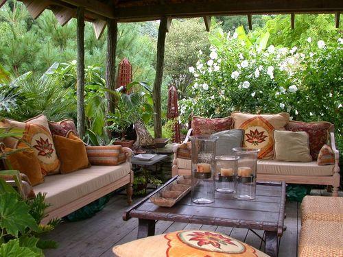 Летняя веранда на даче. Преимущества летней веранды