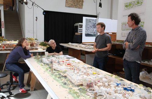 Новая штаб-квартира Facebook