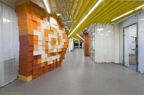 Офис компании Яндекс от российских архитекторов