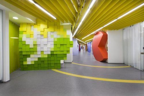 Новый офис компании Yandex Office II
