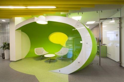 Новый офис компании Яндекс Yandex Office II