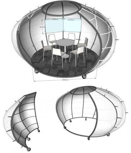 Креативный офисный модуль от китайских дизайнеров