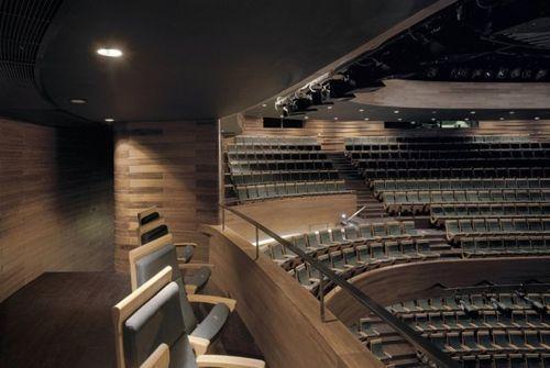 Вип места в оперном театре Wuxi Grand Theatre