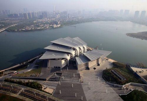 Театр Wuxi Grand Theatre в Китае