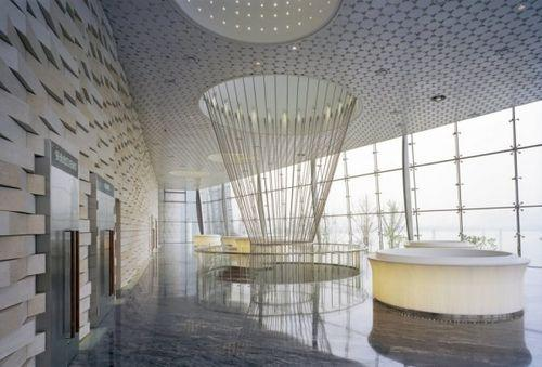 Фойе в Wuxi Grand Theatre