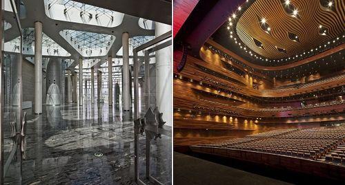 Крылатый оперный театр Wuxi Grand Theatre