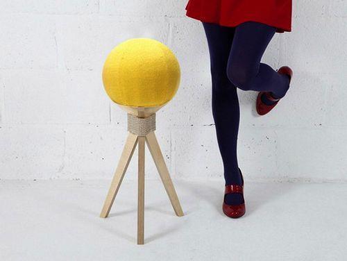 Табурет-одуванчик. Декоративная и функциональная мебель Dandelion Stool