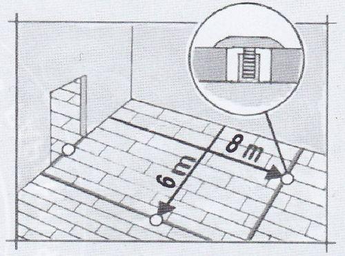 Деформационные швы при укладке ламината