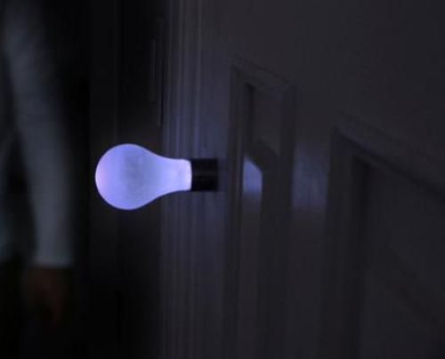 Дверная ручка-светильник