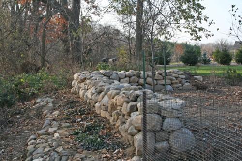 Процесс возведения каменной кладки
