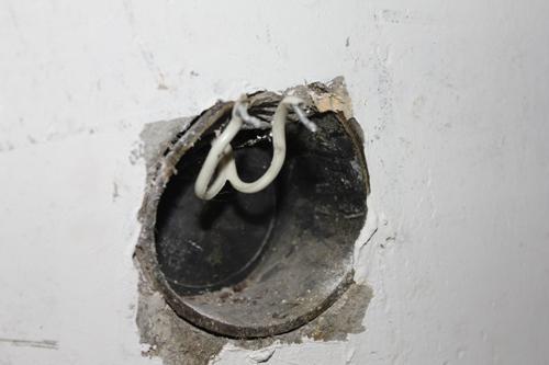 Провода под розетку