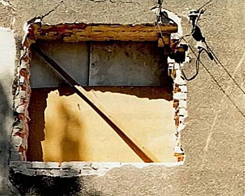 Окно без перемычки