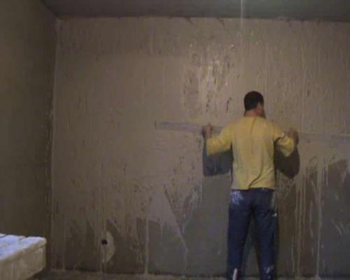 Штукатурка стен. Видео