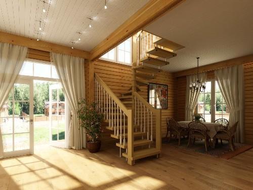 Советы по оформлению и эксплуатации лестницы на даче