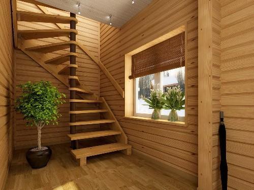 Как сделать лестницу на даче?