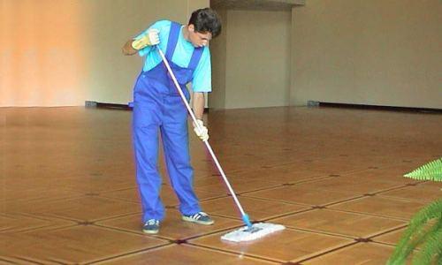 Как правильно проводить влажную уборку линолеума?