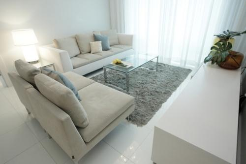 Увеличение комнаты за счет мебели